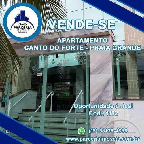 Apartamento, código 1182 em Praia Grande, bairro Canto do Forte