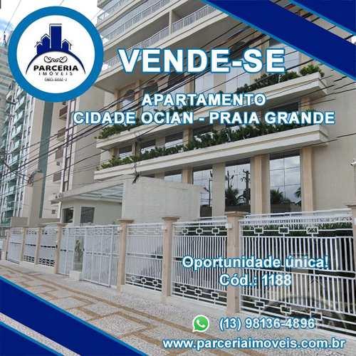 Apartamento, código 1188 em Praia Grande, bairro Aviação