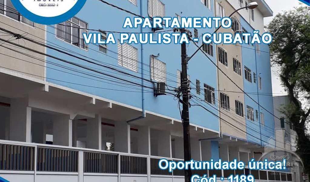 Apartamento em Cubatão, bairro Vila Paulista