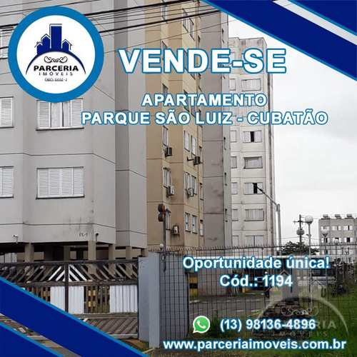 Apartamento, código 1194 em Cubatão, bairro Parque São Luis