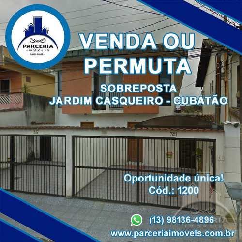 Casa, código 1200 em Cubatão, bairro Jardim Casqueiro