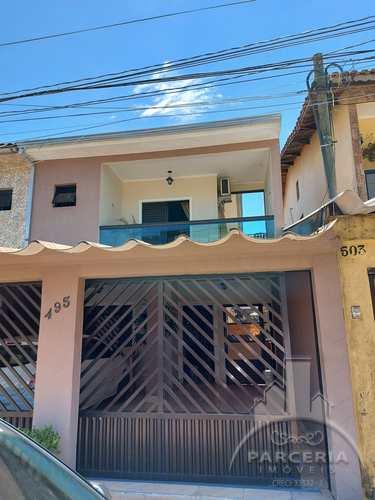 Sobrado, código 1213 em Cubatão, bairro Vila Ponte Nova