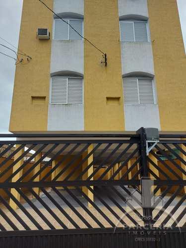 Apartamento, código 1217 em Cubatão, bairro Jardim Casqueiro