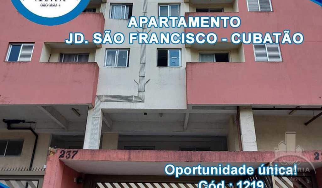 Apartamento em Cubatão, bairro Jardim São Francisco