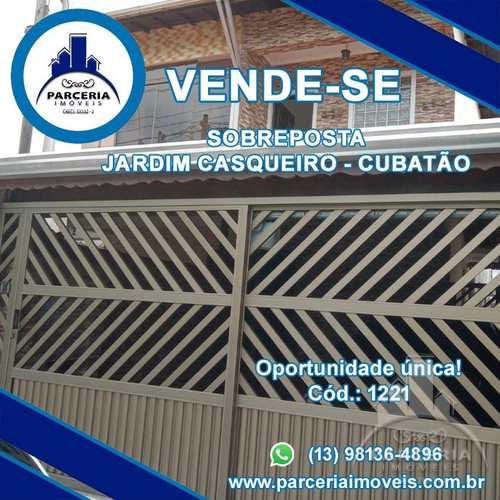 Casa, código 1221 em Cubatão, bairro Jardim Casqueiro