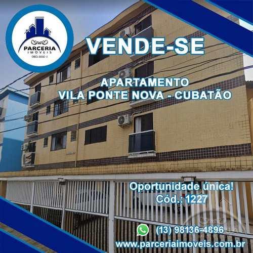 Apartamento, código 1227 em Cubatão, bairro Jardim Casqueiro