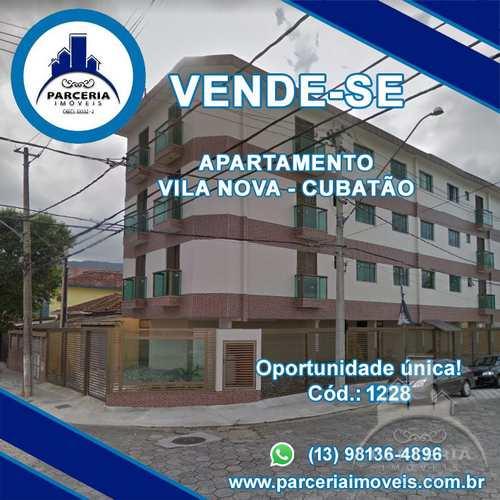 Apartamento, código 1228 em Cubatão, bairro Vila Nova
