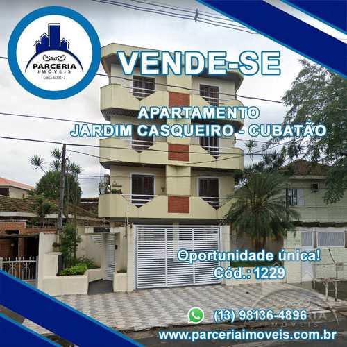Apartamento, código 1229 em Cubatão, bairro Jardim Casqueiro