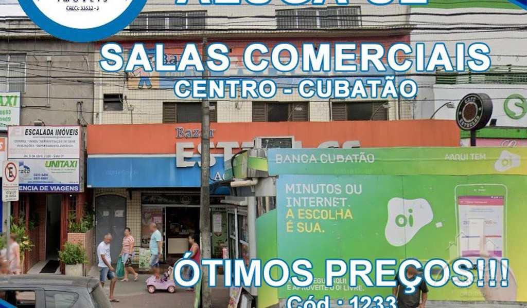 Sala Comercial em Cubatão, bairro Centro