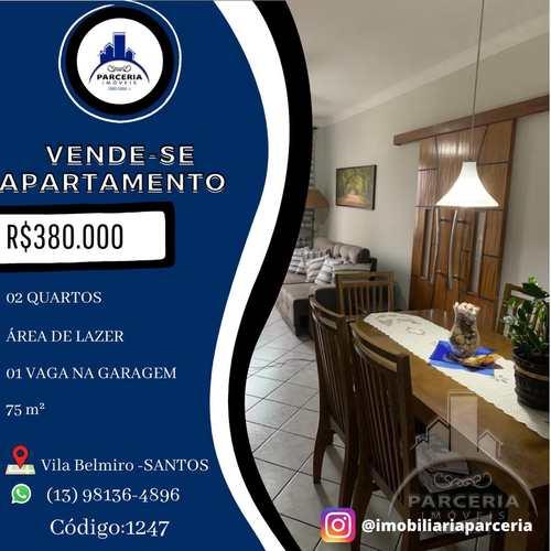 Apartamento, código 1247 em Santos, bairro Vila Belmiro