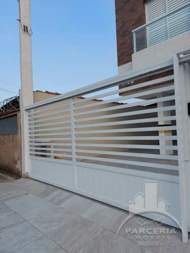 Apartamento, código 1249 em Cubatão, bairro Jardim Casqueiro