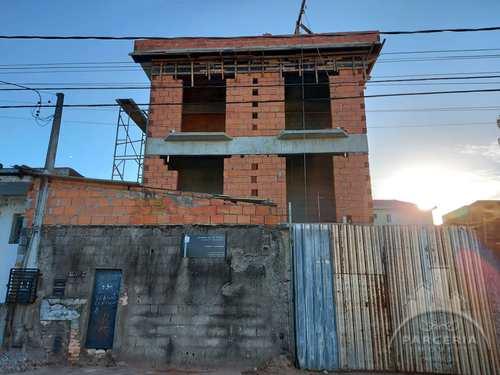 Apartamento, código 1265 em Cubatão, bairro Jardim Casqueiro
