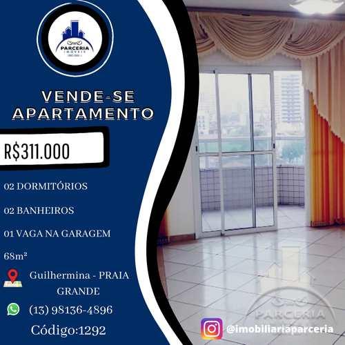 Apartamento, código 1292 em Praia Grande, bairro Guilhermina