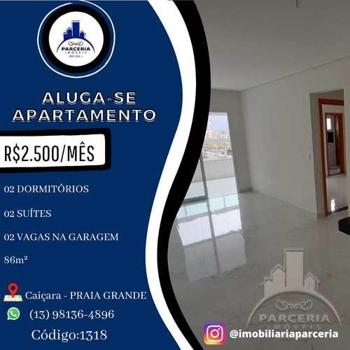 Apartamento, código 1318 em Praia Grande, bairro Caiçara