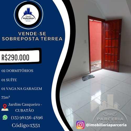 Casa, código 1351 em Cubatão, bairro Jardim Casqueiro