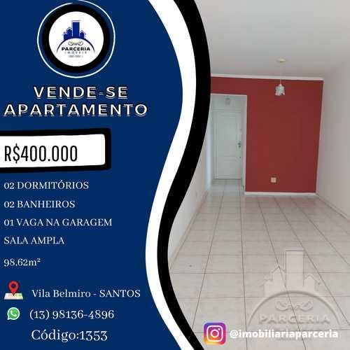 Apartamento, código 1353 em Santos, bairro Vila Belmiro
