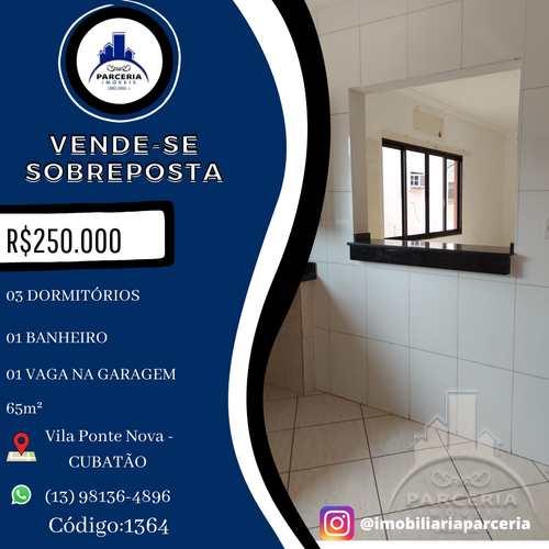 Casa, código 1364 em Cubatão, bairro Vila Ponte Nova