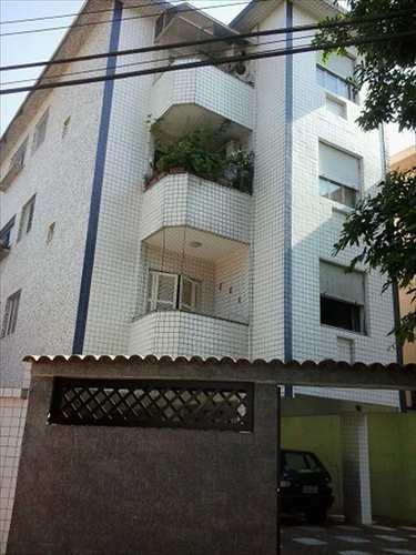 Apartamento, código 663 em Santos, bairro Aparecida