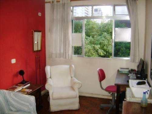 Apartamento, código 628 em Santos, bairro Ponta da Praia