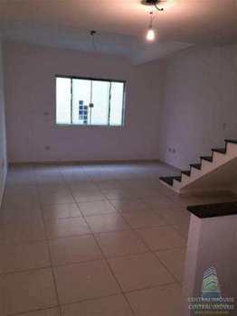 Sobrado de Condomínio, código 5437 em São Vicente, bairro Catiapoa