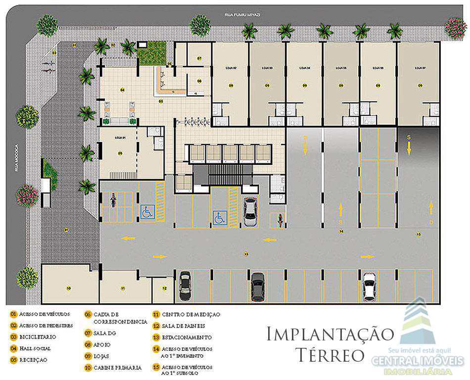 Sala Comercial em Praia Grande, no bairro Boqueirão