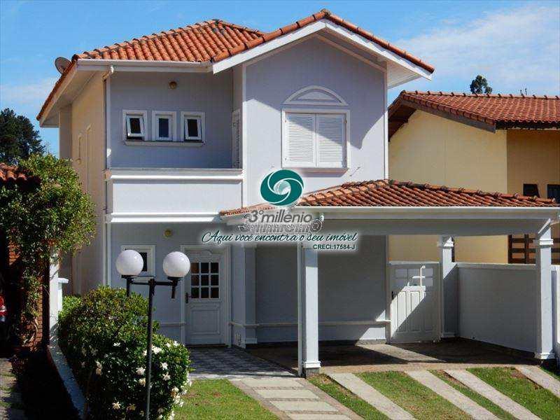 Sobrado de Condomínio em Cotia, bairro Jardim Lambreta