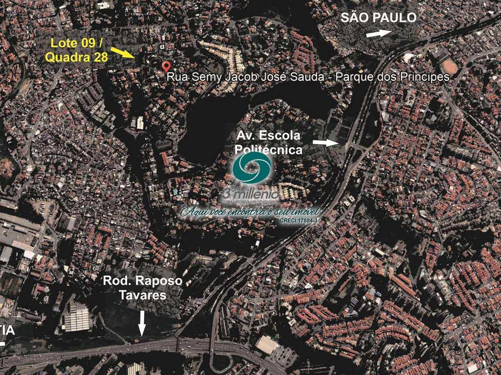Terreno em São Paulo, no bairro Parque dos Príncipes
