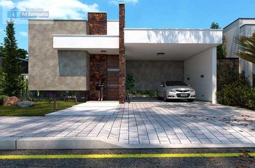 Casa de Condomínio, código 709 em Presidente Prudente, bairro Porto Madero Residence