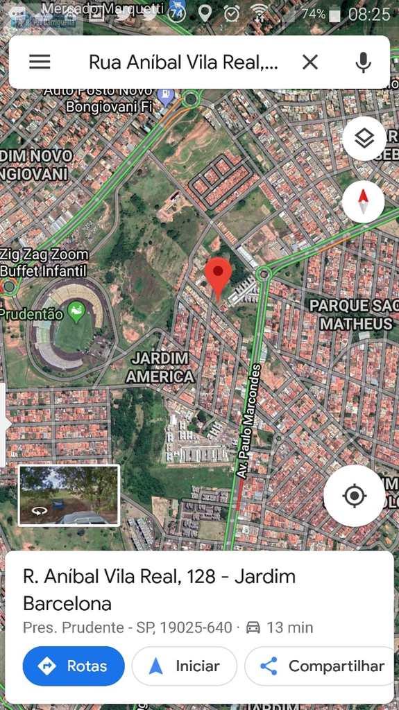 Terreno em Presidente Prudente, no bairro Jardim Barcelona