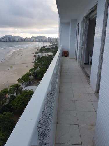 Apartamento, código 2253 em Guarujá, bairro Pitangueiras