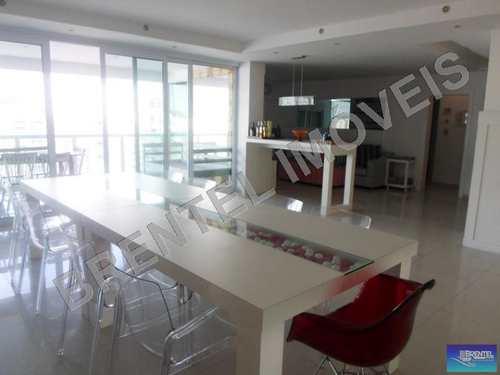 Apartamento, código 1107 em Guarujá, bairro Pitangueiras