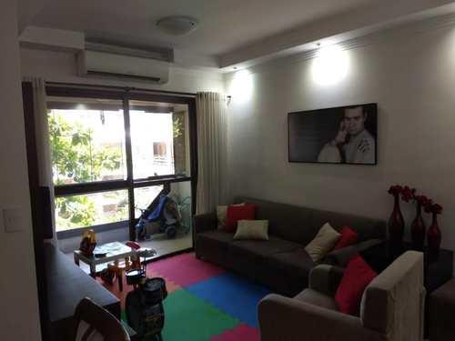 Apartamento, código 2757 em Guarujá, bairro Praia do Tombo