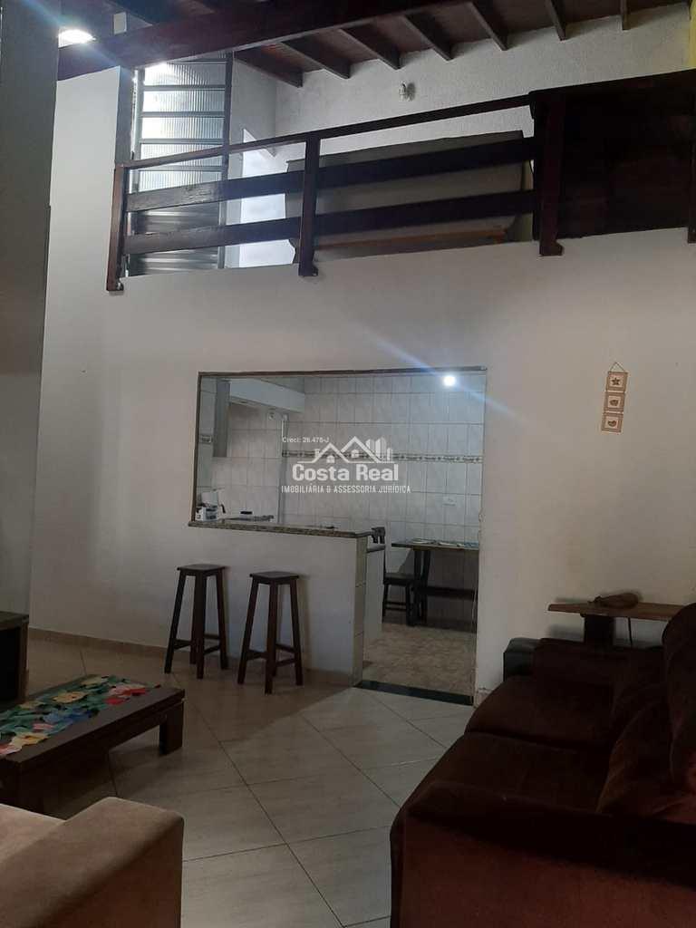 Casa em Praia Grande, no bairro Mirim