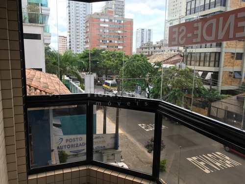 Apartamento, código 2462 em Santos, bairro Embaré
