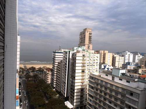 Apartamento, código 2176 em Santos, bairro Boqueirão