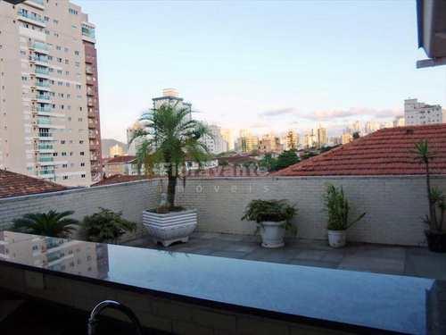 Cobertura, código 2005 em Santos, bairro Aparecida