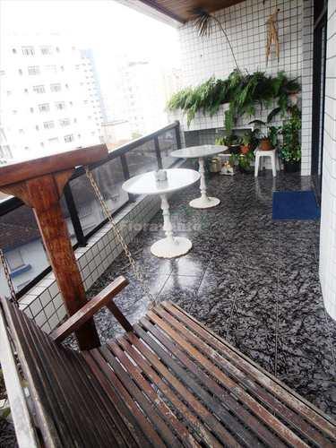 Apartamento, código 1825 em Santos, bairro Boqueirão
