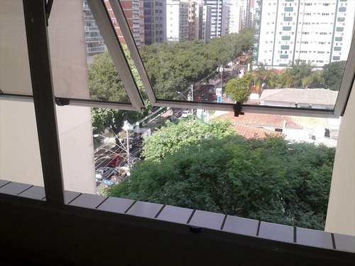 Flat, código 1650 em Santos, bairro Gonzaga