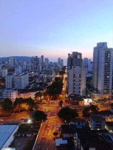 Apartamento, código 1366 em Santos, bairro Encruzilhada