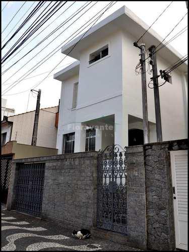 Sobrado, código 1300 em Santos, bairro Gonzaga