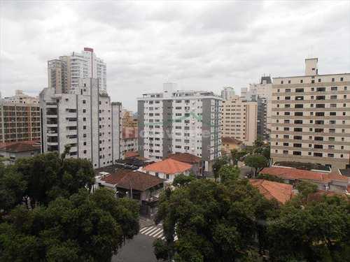 Flat, código 805 em Santos, bairro Gonzaga