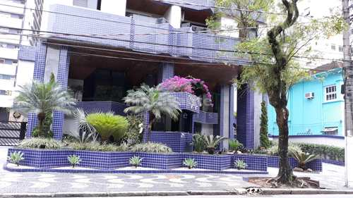 Apartamento, código 659 em Santos, bairro Boqueirão