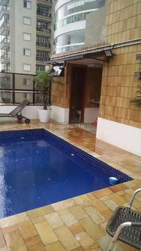 Cobertura, código 377 em Santos, bairro Boqueirão