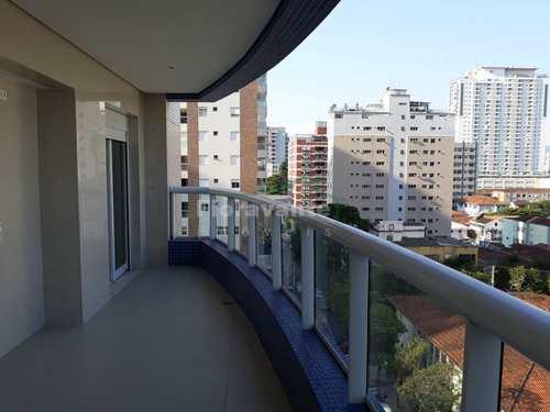 Apartamento, código 3121 em Santos, bairro Vila Rica