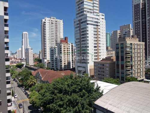 Apartamento, código 3504 em Santos, bairro Boqueirão