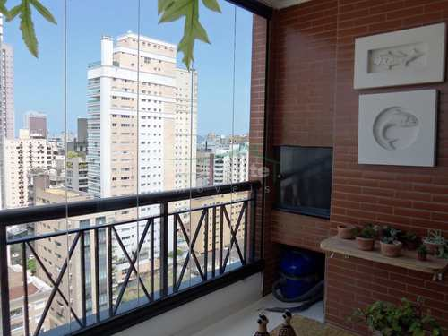 Apartamento, código 3661 em Santos, bairro Boqueirão