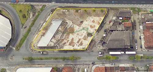 Terreno Comercial, código 3711 em São Vicente, bairro Cidade Naútica