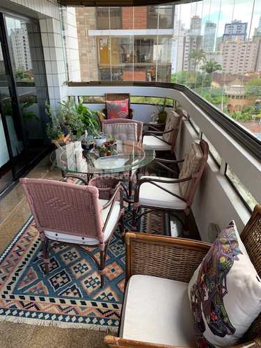 Apartamento, código 4776 em Santos, bairro Boqueirão