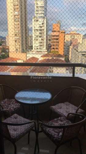 Apartamento, código 4930 em Santos, bairro Gonzaga