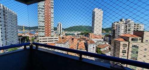 Apartamento, código 4966 em Santos, bairro Ponta da Praia